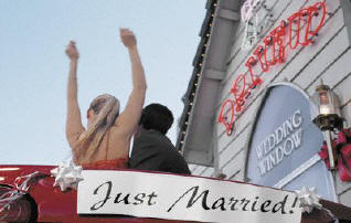 Drive Thru Weddings Las Vegas Wedding Packages